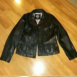 Vintage Wilson's leather jacket
